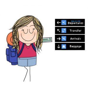 Viaggiare partendo