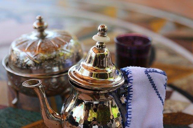 Tè alla menta marocchino