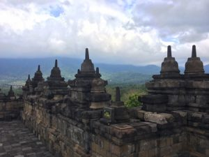 Borobudur dalla cima