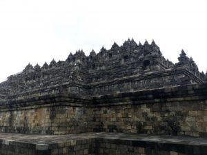 Borobudur dal basso