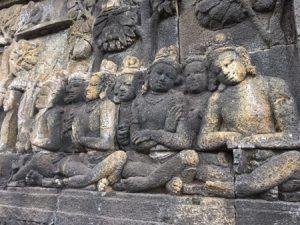 Borobudur bassorilievo