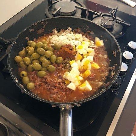 Empanadas altri ingredienti