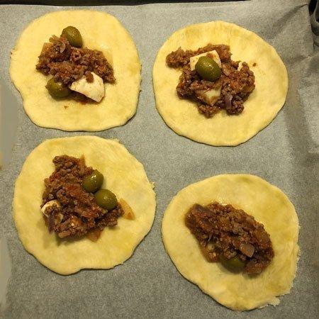 Empanadas ripieno