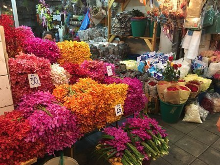 Mercato dei fiori di Bangkok