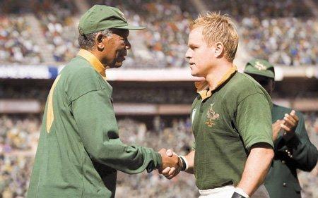Mandela e Pienaar