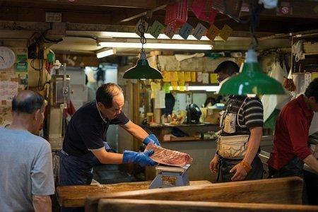 Mercato del pesce Tokyo