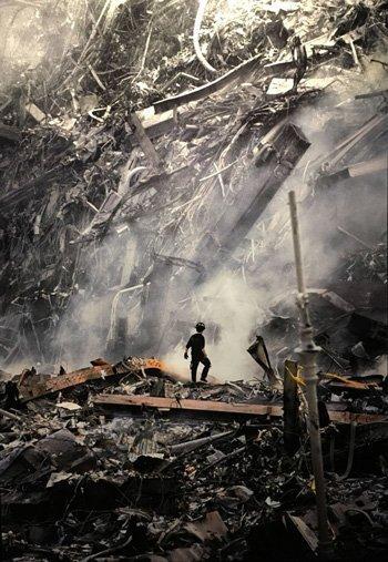 Il crollo delle Torri Gemelle del World Trade Center