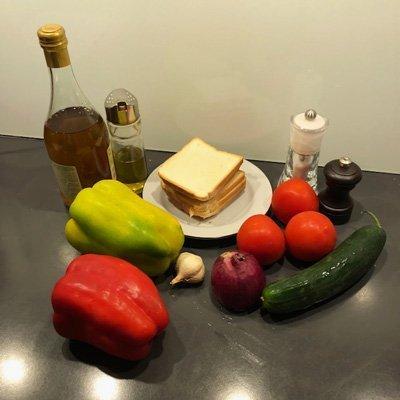 Gazpacho ingredienti
