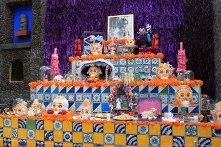 altare dia de los muertos