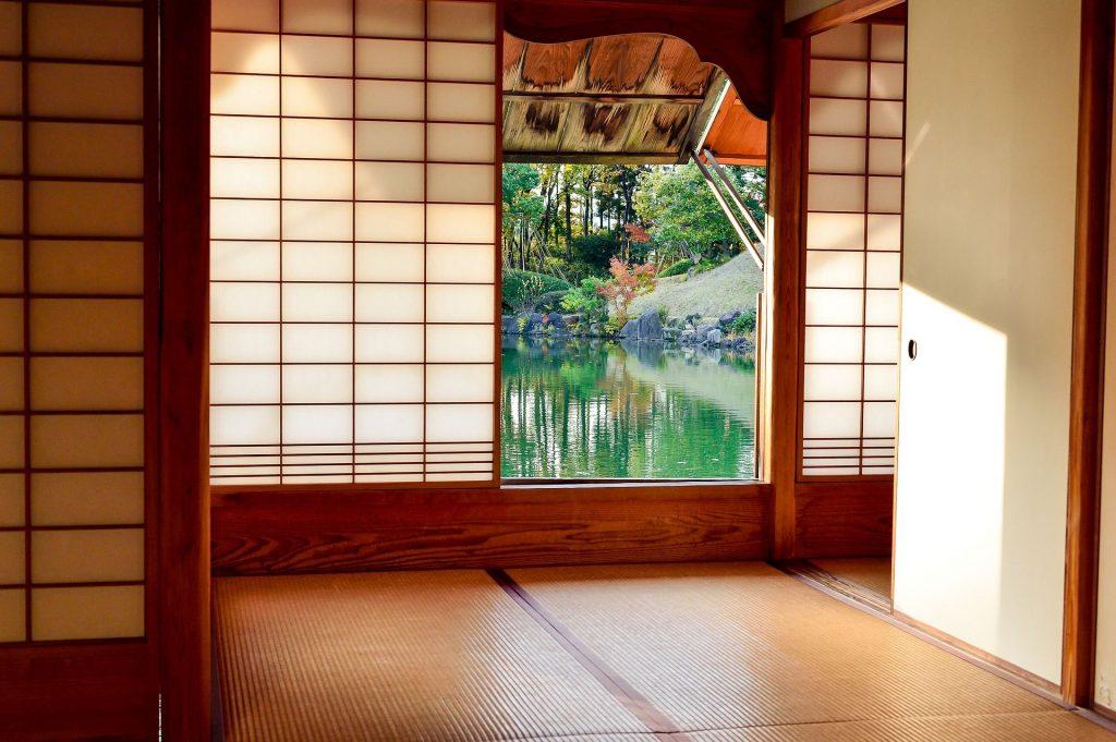 casa giapponese - tatami